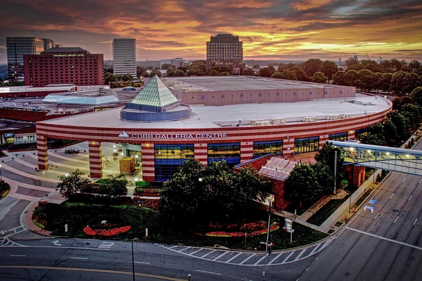 Cobb Galleria Center Exterior