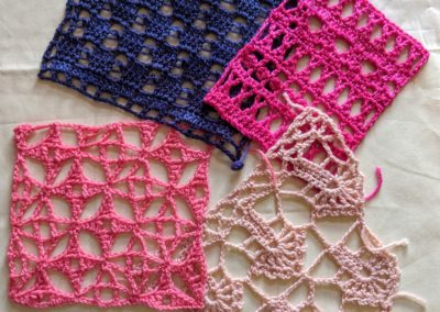 Dive into Crochet Lace Stitches