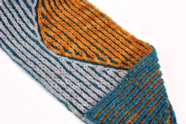 Brioche Stitch Intarsia
