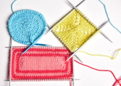 Center-out Knitting