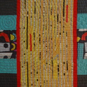 Walking Foot Quilting - Beyond the Ditch
