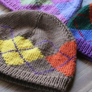 Addictive Argyle!: Hat Project