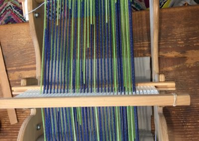 Weave a Clasped-warp Scarf on the Rigid-heddle Loom