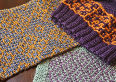 Colorwork the Easy Way! Mosaic Knitting and Other Garter Slip-stitch Colorwork