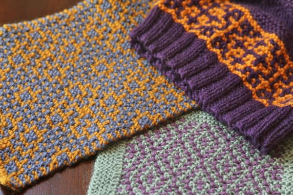 Colorwork the Easy Way! Mosaic Knitting and Other Garter Slip Stitch Colorwork