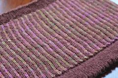 Vertical Stripes!: Knit One Below Cowl