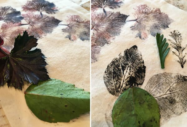 Surface Design: Printing with Found Objects