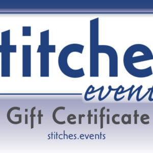 Generic Stitches Gift Certificate stitches.events