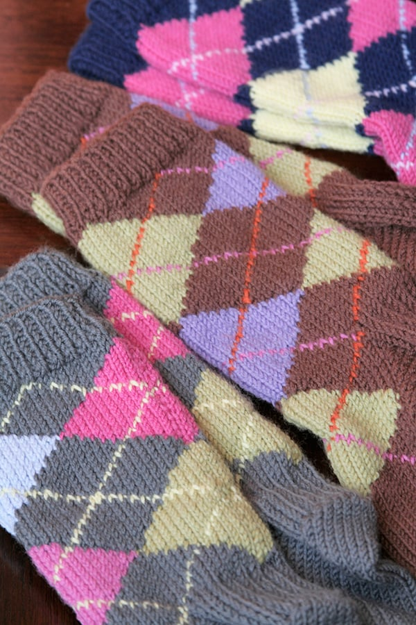 Classic Argyle! and other Retro Sock Designs