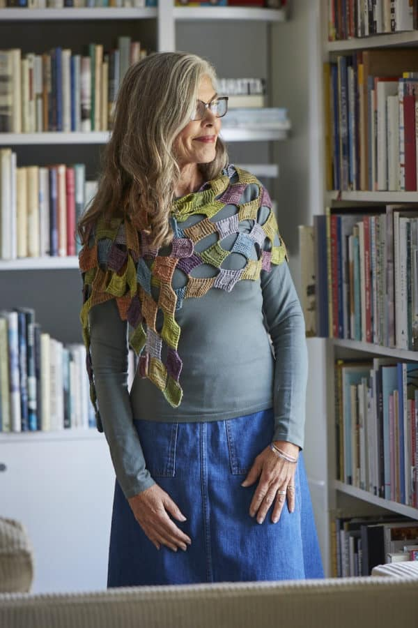 Breaking the Rules: Building Unique Shawl Shapes