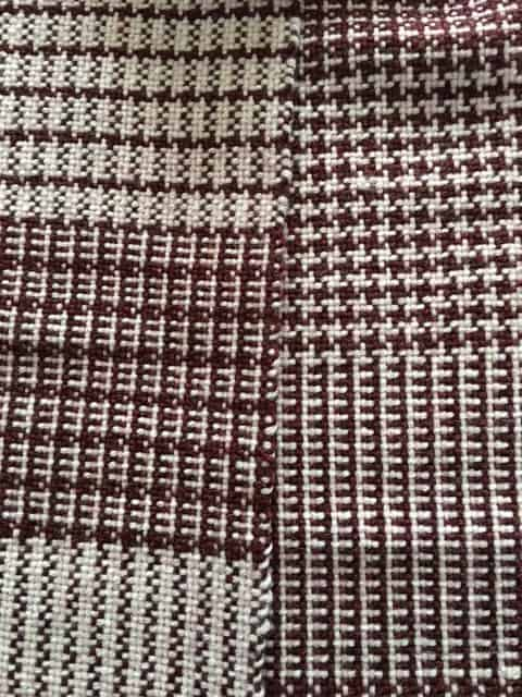 Color and Weave Sampler Scarf on the Rigid Heddle Loom