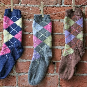 Introduction to Knitting Argyle