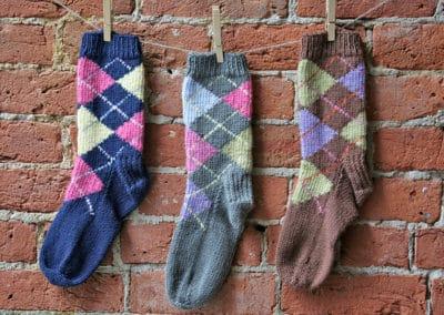 Introduction to Knitting Argyle