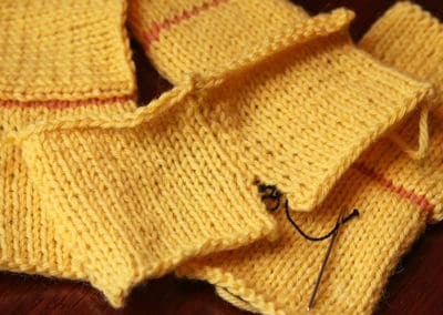 End with a Bang! Not a Whimper: Seaming Techniques