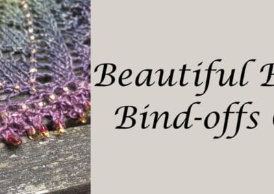 Beautiful Beaded Bind-off Techniques