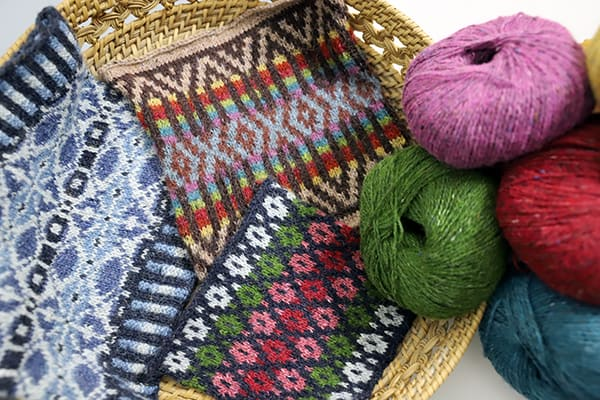 Colorwork Knitting in Portuguese Style