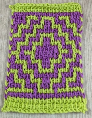 Mosaic Tunisian Crochet