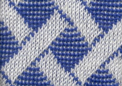 Double-ended, Circular Tunisian Tapestry