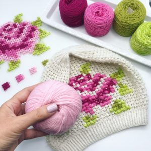 Cross Stitch On Knits