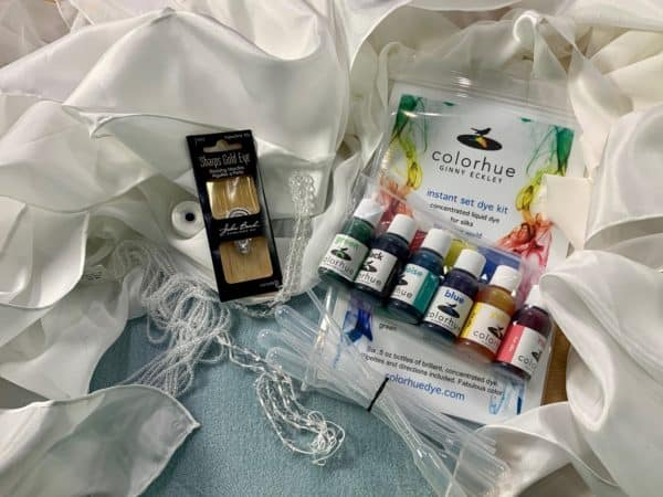 KIT - Silk to Dye (and Bead! and Sew!) For