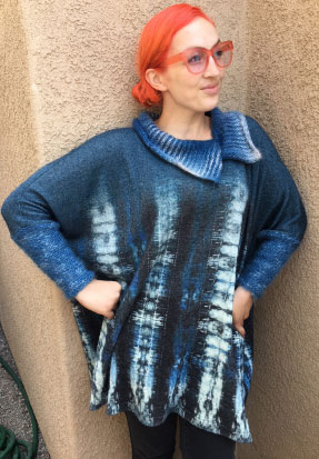 Top Project: Combining Knit/Crochet with Fabric