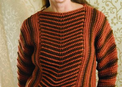 The Crocheted NEWS Sweater