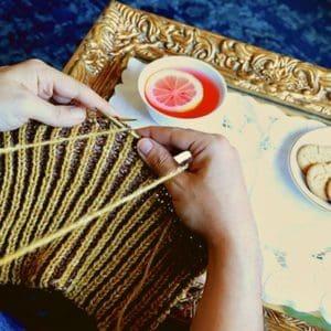 Knit Brioche in Portuguese Style