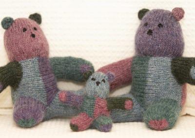 Shorty the Short-row Baby Bear