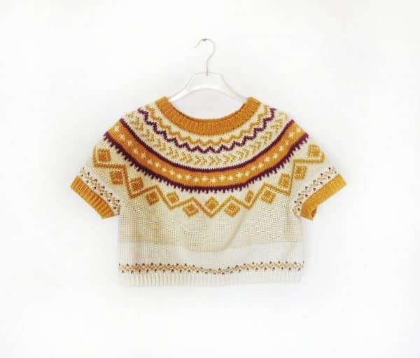 Design a Top-down Crochet Pullover with Perfect Fit
