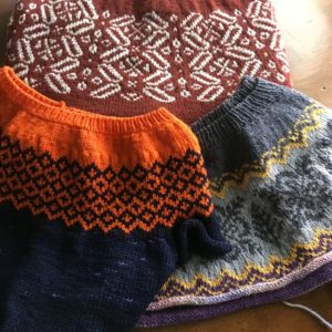 Knitting Fair Isle - How the Heck do I Hold the Yarns?