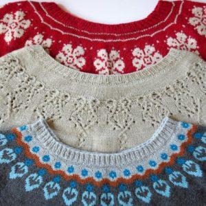 Designing Motifs for Round Yoke Sweater