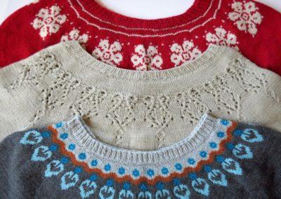 Designing Motifs for Round-yoke Sweaters