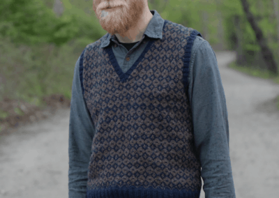 Invested Interest: The How-to of Knitting a Vest