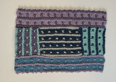 New Directions in Log Cabin Knitting