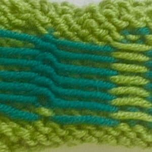 Ladderback Jaquard for Stranded Knitting