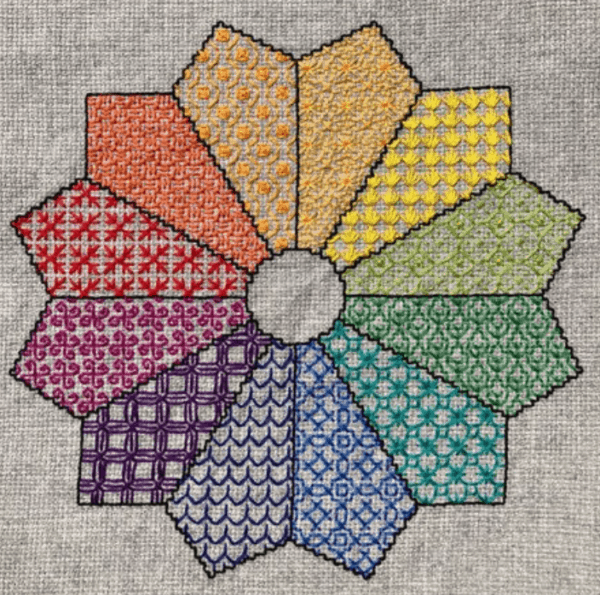 Blackwork Colorwheel