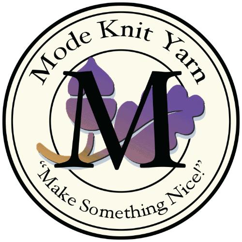 Mode Knit Yarn Logo; Make something Nice