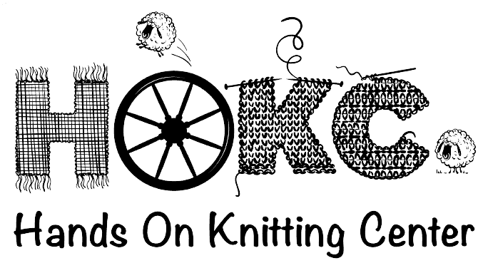 Hands On Knitting Center Logo