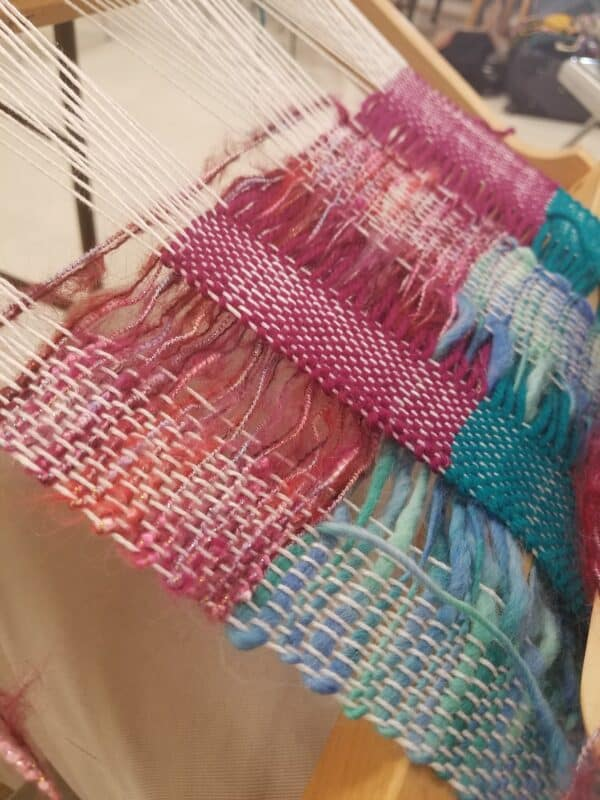Exploration of 3D Weaving on a 2D Loom - Cool Cross