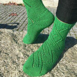 Toe Up Socks that Fit!