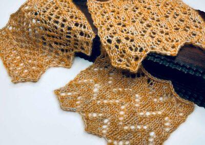 Modifying Lace Stitches