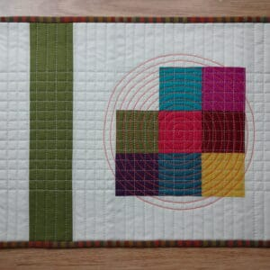 Walking Foot Quilting -Beyond the Ditch