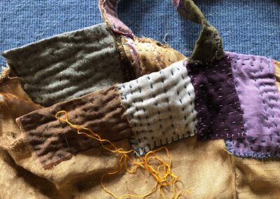 Visible Mending: Patching and Darning