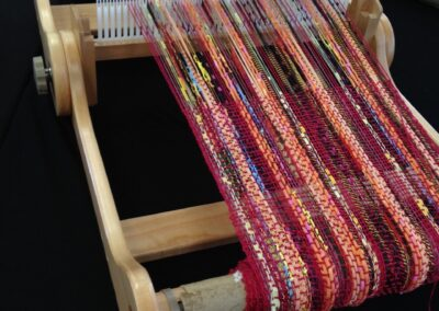Learn to Weave on a Rigid Heddle Loom and Use Up your Stash