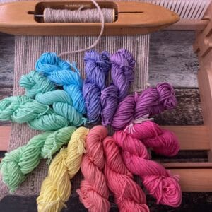 Color magic for the Rigid-Heddle