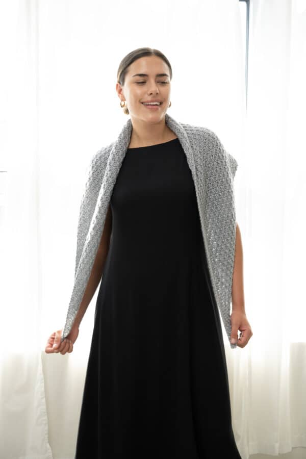 Sequence Knit Three Shawls: Anywhere, Conversing, and Careful