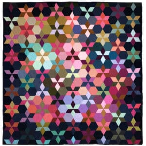 Six Pointed Star- Hand Piecing
