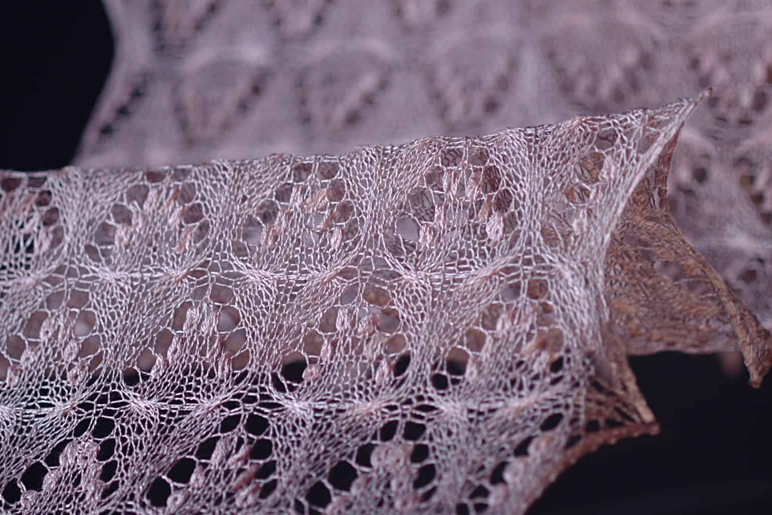 Delicate lace designed by Denise Bell