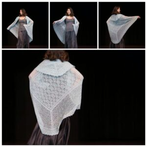 Heritage Shetland Shawls Knit From Edging To Center