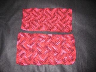 Single Crochet Entrelac